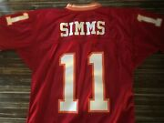 1986 Phil Simms Practice Game Worn New York Giants No Contact Jersey Super Bowl