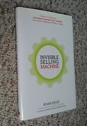 Invisible Selling Machine By Ryan Deiss 2015 Hardcover Signed