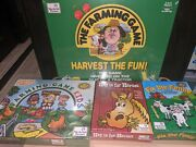 New Sealed The Farming Game Harvest The Fun Board Game Fix The Fence 4 Game Lot