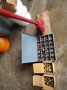 Hydraulic Hose Fitting Crimper With Dies And Brass Ferrules Board Not Included
