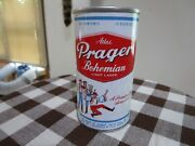 Very Nice Atlas Prager 12 Oz Ss Early Pull Tab Beer Can Drewrys South Bend 36/6