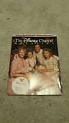 1987 Disney Channel Mag Mickey Mouse Donald Duck Pluto Snow White Cinderella