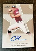 2020 Colson Montgomery Leaf Perfect Game Rookie Autograph Auto Chicago Whitesox