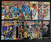 New Mutants 1 2 3 4 5 8 88 91 97 99 100 Annual Lot 87 Nm 1st Cable X-force X-men