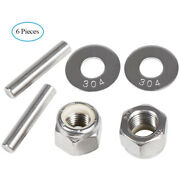 6x Mkp-34 Prop Nut Kit E For Minnkota Trolling Motor With Mkp-33 And Mkp-38 Prop