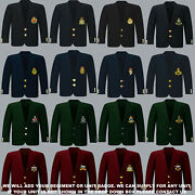 Units S To Z Army Royal Navy Air Force Marines Regiment 8 Button Blazer To 52