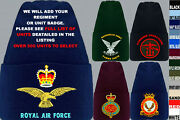 Units S To Z Army Royal Navy Air Force Marines Raf Regiment Beanie Wooly Hat