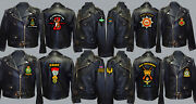 Unit A To D Army Royal Navy Air Force Marines Raf Regiment Motorbike Biker Patch