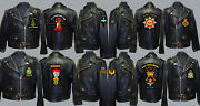 Unit R To R1 Army Royal Navy Air Force Marines Regiment Motorbike Biker Patch