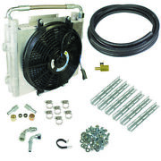 Bd Diesel Bd Xtrude Transmission Cooler With Fan - Double Stacked Complete Kit