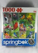Springbok 1000 Piece Puzzle Birds Of A Feather 24x30 2017 New Sealed