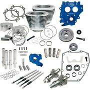 Sands Cycle 330-0663 Power Package - Gear Drive - Silver