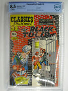 Classics Illustrated 73 The Black Tulip Cbcs Very Fine+ 8.5 White Pages