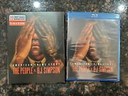 Brand New American Crime Story The People V. O.j. Simpson Blu-ray Disc, 2016