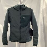 Arcand039teryx Womens Proton Lt Hoodie Jacket Enigma Full Zip Insulated Pockets S New