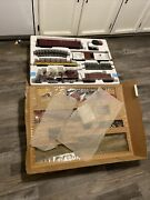 Vintage Bachmann Big Haulers Red Comet G Scale Electric Train Set In Box Euc