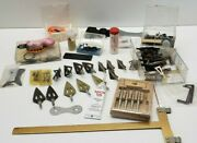 Vintage Fred Bear Archery Broadheads And Accessories