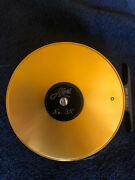 Vintage - Abel 3n Gold Anodized Fly Reel Case Early Production 412 Great Cond.