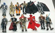 Lot Of 12 Lego Star Wars Buildable Bionicle Action Figures 75107 75118 75529