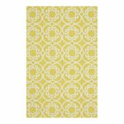 Feizy Hastings 8'6 X 11'6 Outdoor Tufted Area Rug In Maize Yellow Lattice