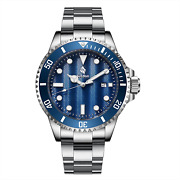 Airtdon Mens Watches Japanese-quartz Water Proof 10atm Diving Casual Business Wa