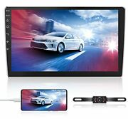 Double Din Car Stereo Radio Receiver 10.1andrdquo 2.5d Curved Hd Touch Screen Head Uni