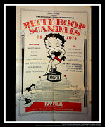 Betty Boop Scandals 27x40 Us One Sheet Vintage Movie Poster Original 1974 Used