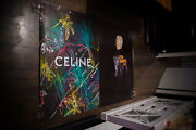 Celine The Dancing Kid Style B 4x6 Ft Original Fashion Advertising Poster