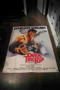 Over The Top Sylvester Stallone 4x6 Ft French Grande Movie Poster Original 1987