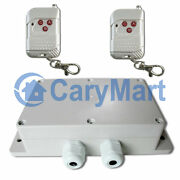 100m 2 Channel 30a High Power Relay Output Ac 220v Wireless Remote Control Kit