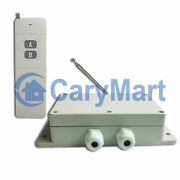 2 Channel 30a High Power Relay Output 2000m Long Range Dc Remote Control Kit