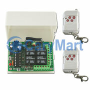 100m 4 Ch Relay Output Momentary Mode Dc 6/9/12/24v Wireless Remote Control Kit