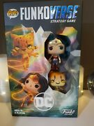 Pop Funkoverse Dc Comics 102 - 2-pack Wonder Woman And The Cheetah