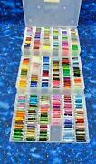 Sewing And Embroidery Floss Assorted Colors 3 Boxes Total 357 Cards