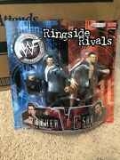 Vince And Shane Mcmahon Father Vs Son Wwf Wwe Ringside Rivals 2pack Sealed New Moc