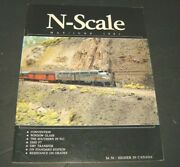 N - Scale Magazine May/june 1991 -model Railroad Trains Layout Detailing