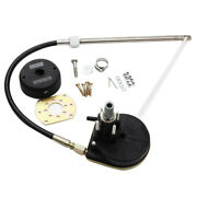 Yk7-e Mechanical Steering Kit Set With 12ft Steering Cable Outboard System