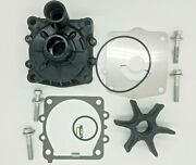 Water Pump Impeller Repair Kit And Housing 200 225 250hp For Yamaha Outboard 2str