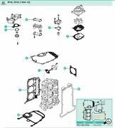 Powerhead Gasket Set For 40 Hp 50 Hp 4 Stroke Suzuki Outboard Df40 Df50 And03999-and03910