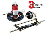 Boat Hydraulic Steering System Up To 90 Hp Outboard Hydrodrive Yamaha Suzuki