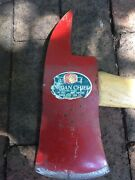 Vintage Fire Axe Indian Chief Mann Tool Co.