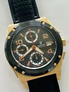 Festina Shockwave Watch 18k Solid Gold F-123 40mm 7750 Automatic Movement