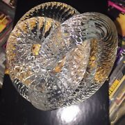 Crystal Knot Heavy Fusion Z Studio Signed Art Glass