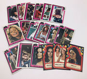 1977charlies Angels Trading Cards Lot Of 15 Plus 3 Stickers     563
