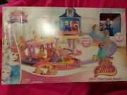 Disney Princess Glitter Glider Castle Play Set With Gus And Cinderella, Frozen Lot