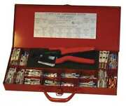 Burndy Y1mrtckit 17.85 Crimper And Connector Kit 16 To 4 Awg