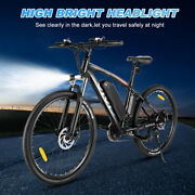 500w-27.5and039and039 Electric Mountain Bicycle Bike Ebike+removeableli-battery-21speeds