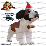 10ft Inflatable Husky Dog Christmas Holiday Promotion With Air Blower
