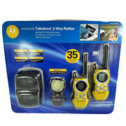Motorola Mr350r 35-mile Range 22-channel Frs/gmrs Two-way Radios - New Sealed