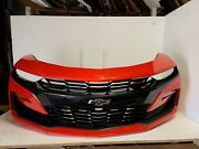 2019 2020 2021 Chevy Camaro Ss Front Bumper Assembly With Fog Oem Red Hot